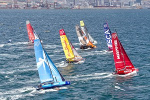 November 14, 2014. Practice Race in Cape Town.